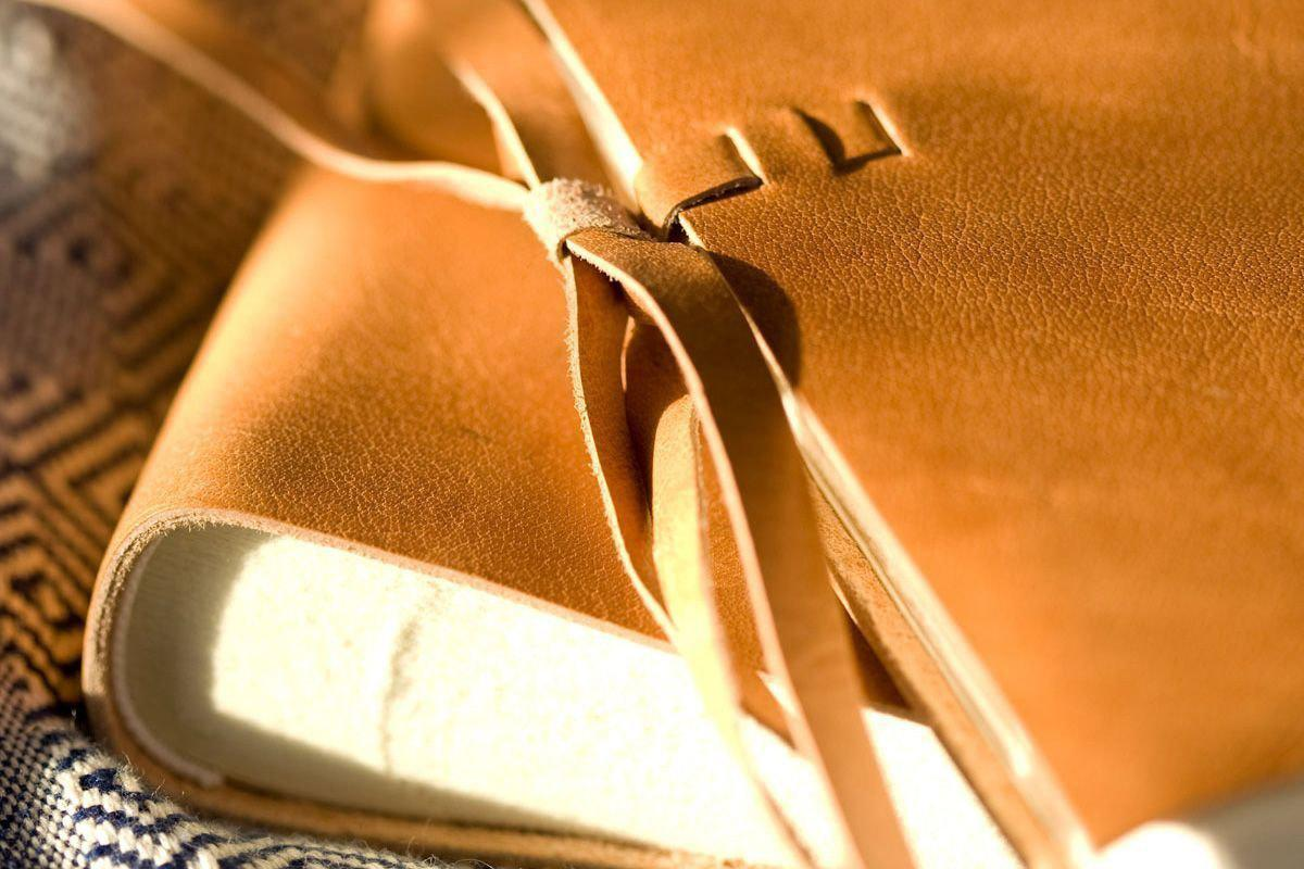 Nkuku ALBUMS & JOURNALS Rustic Leather Photo Album