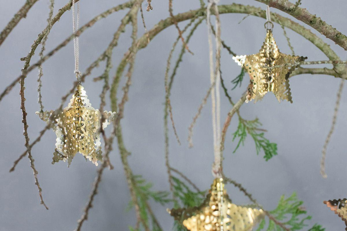 Nkuku CHRISTMAS DECORATIONS Sankari Star Decorations