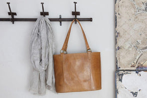Nkuku BAGS Savannah Leather Shopper