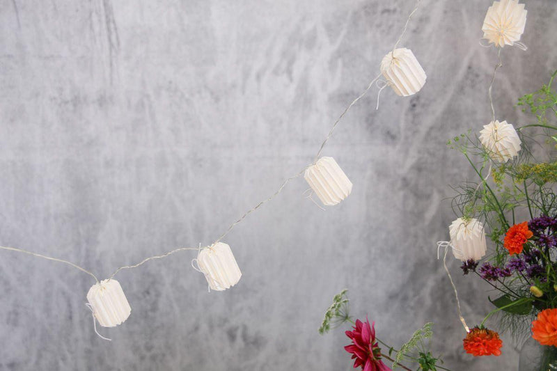 Nkuku DECORATIVE ACCESSORIES Seya Lantern Garland