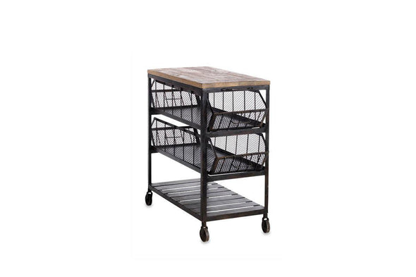 Nkuku FURNITURE Tafari Iron Side Table - Large