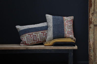 Nkuku CUSHIONS & THROWS Talani Riba Cushion Cover