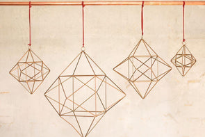 Nkuku CHRISTMAS DECORATIONS Talini Geometric Star