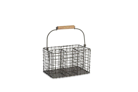 Nkuku KITCHEN STORAGE Tilmo Cutlery Basket