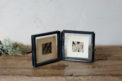 Nkuku PHOTO FRAMES Tiny Folded Danta Frame - Antique Black