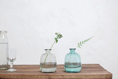 Nkuku VASES & PLANTERS Toska Glass Bottle
