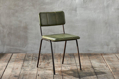 Nkuku FURNITURE Ukari Dining Chair - Rich Green