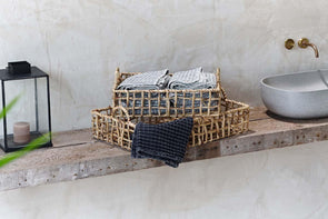 Nkuku STORAGE & BASKETS Wabali Water Hyacinth Storage Basket