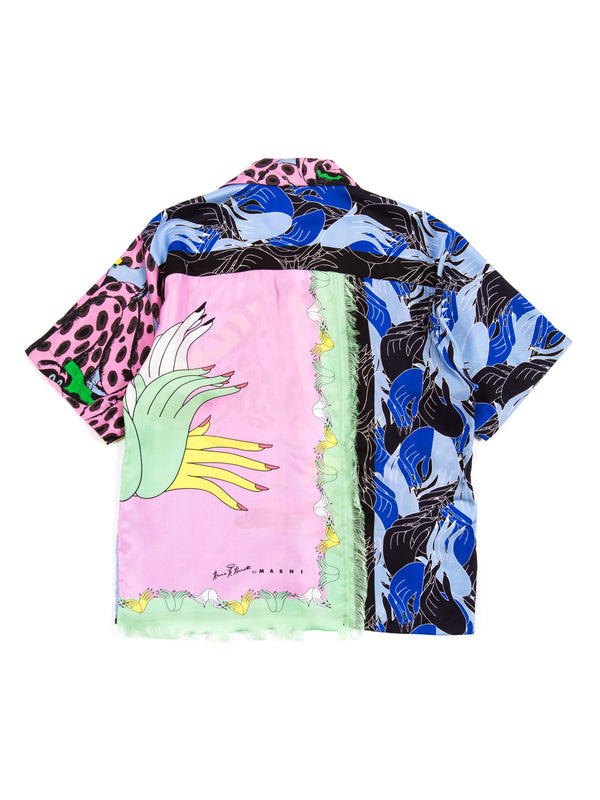 Marni - Mix Fabric Print Shirt By Bruno Bozzetto