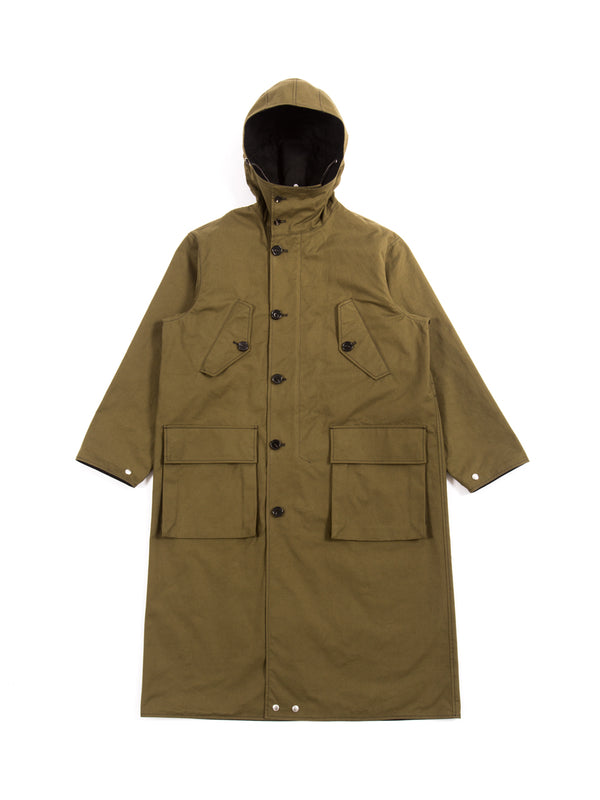 Marni - Compact Cotton Canvas Reversible Coat