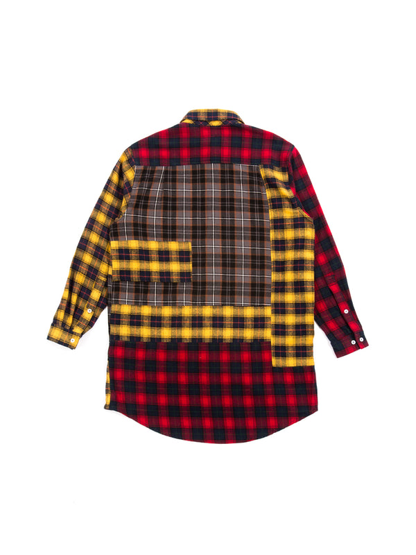 Pam - Arial Canopy Checked Panel Shirt