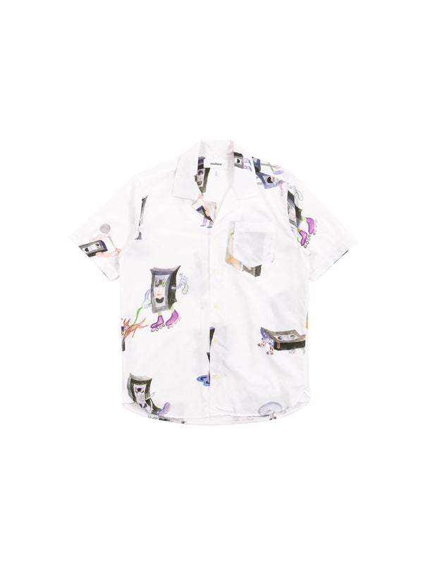 Soulland - Cornwall All Over Print Shirt