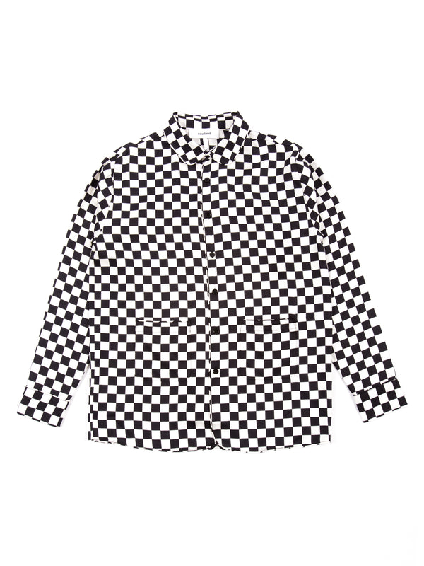 Soulland - Gil Silk Shirt Jacket