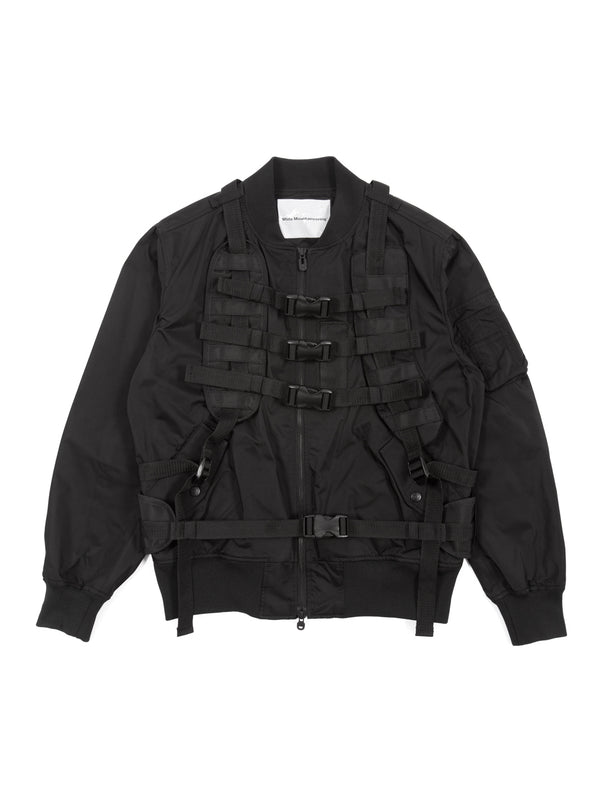 White Mountaineering - Twill Shoulder Pad Jacket