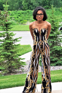 Golden Branch Jumpsuit