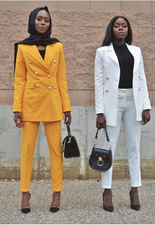 Girl Boss Suit
