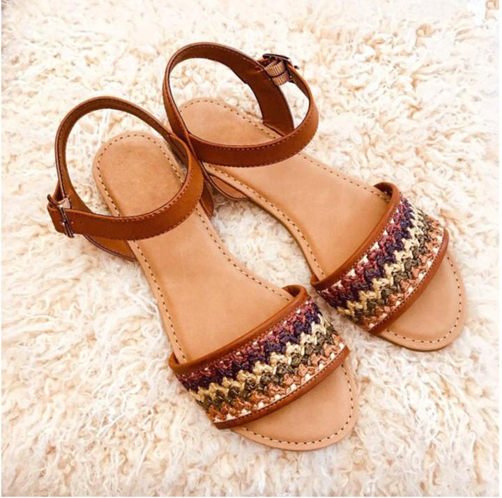 Amber Brown Sandals