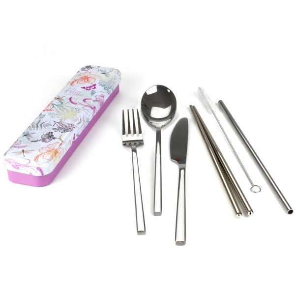 Retrokitchen Carry Your Cutlery Set Dragonfly