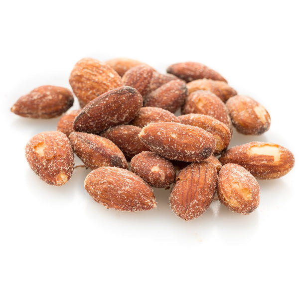 Almonds Dry Roasted Salted with Himalayan Salt (AUS) (choose size)