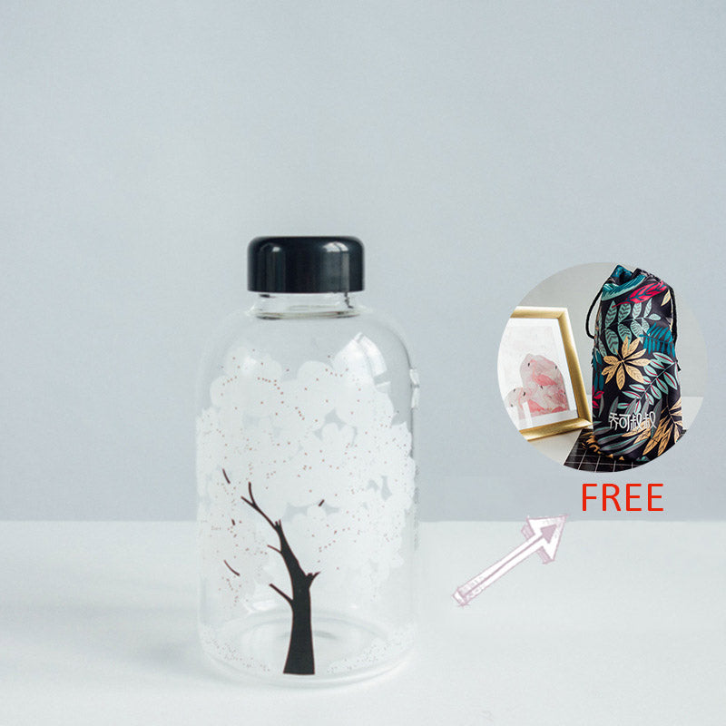Cherry Blossom Water Bottle