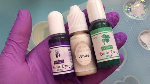 resin dyes used to color resin