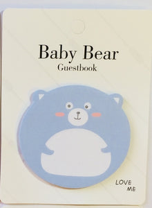 Baby Bear Sticky Notes Pad