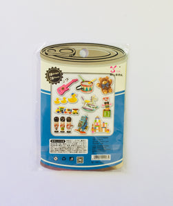 Retro Toys Sticker Flakes - 70 pcs