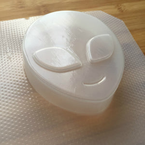6.4 oz Alien Head Plastic Mold