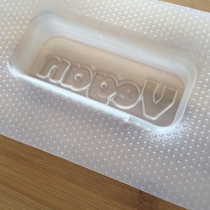 3.4 oz Vegan Bar Plastic Mold
