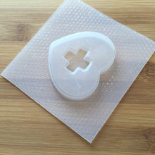 Load image into Gallery viewer, Nurse Heart Plastic Resin Shaker Mold