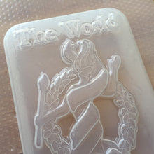 Load image into Gallery viewer, The World Tarot Card Plastic Mold