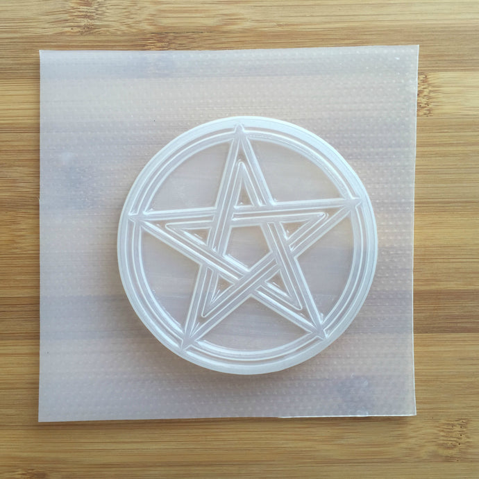 10 cm Pentagram Sign Plastic Mold