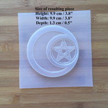 Load image into Gallery viewer, Pentacle Moon Plastic Mold