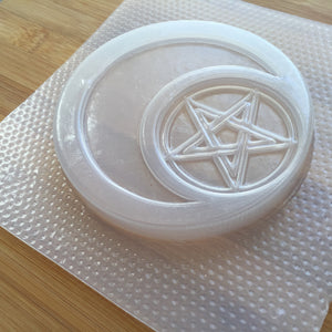 Pentacle Moon Plastic Mold