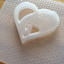 Load image into Gallery viewer, Elephant Heart Plastic Mold