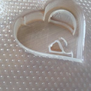 Elephant Heart Plastic Mold