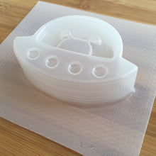 Load image into Gallery viewer, 3.3 oz Alien UFO Plastic Mold - Bath Bomb Molds