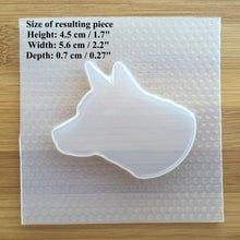 Load image into Gallery viewer, German Shepherd Plastic Mold