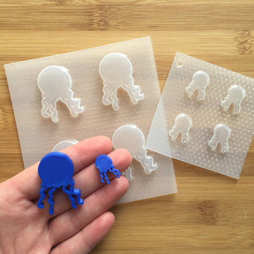 Jelly Fish Plastic Mold - Choose from 2 sizes