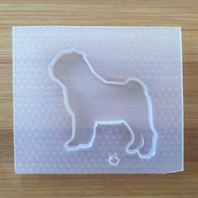 Load image into Gallery viewer, Pug Silhouette Plastic Mold