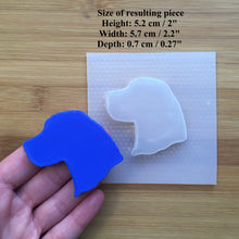 Load image into Gallery viewer, Beagle Silhouette Plastic Mold - 3 designs to choose from