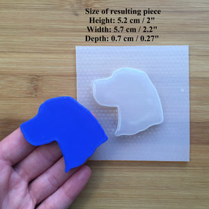 Beagle Silhouette Plastic Mold - 3 designs to choose from