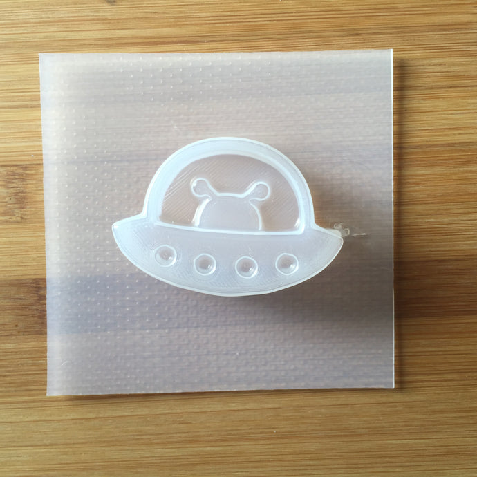 1.5 oz Alien UFO Plastic Mold - DEEP version
