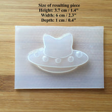 Load image into Gallery viewer, Cat UFO Plastic Mold
