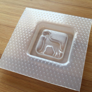 Great Dane Plastic Mold - choose from 4 designs