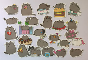 Pusheen Stickers - 50 pcs