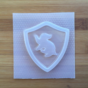 Badger House Badge Plastic Mold - Shaker Molds