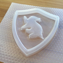 Load image into Gallery viewer, Badger House Badge Plastic Mold - Shaker Molds