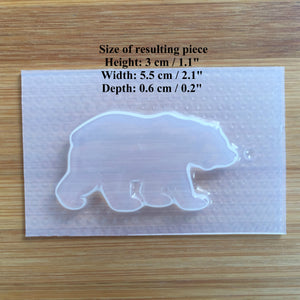 Polar Bear Plastic Mold
