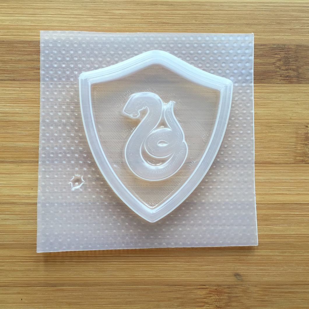 Snake House Badge Plastic Mold